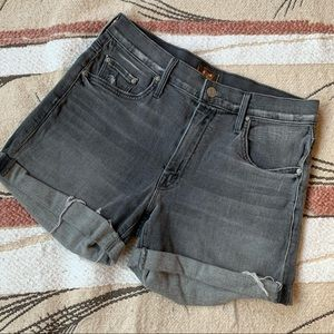 MOTHER drop out cuff short